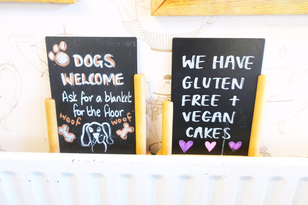 Dog friendly cafe, Potters Barn, Ribchester