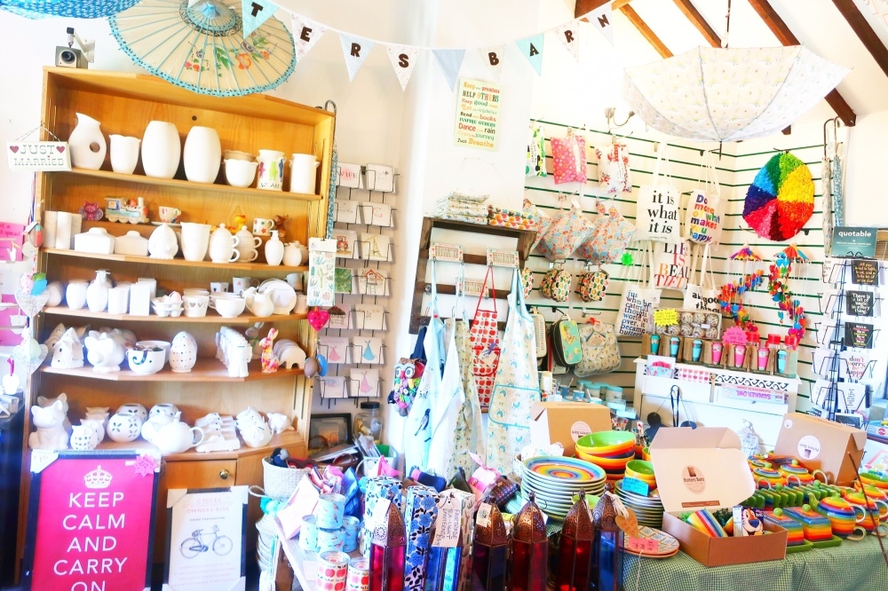 Potters Barn gift shop, Ribchester