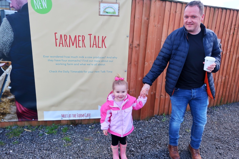 Farmer talk at Mrs Dowson's