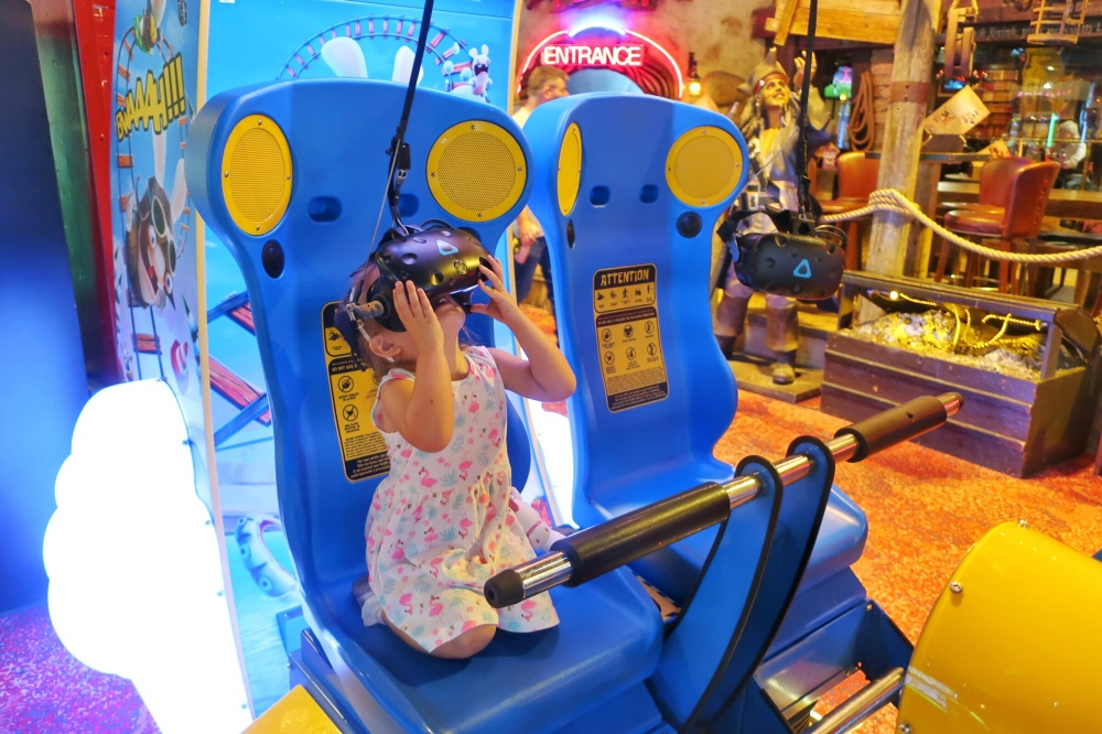 VR games at Coral Island Blackpool