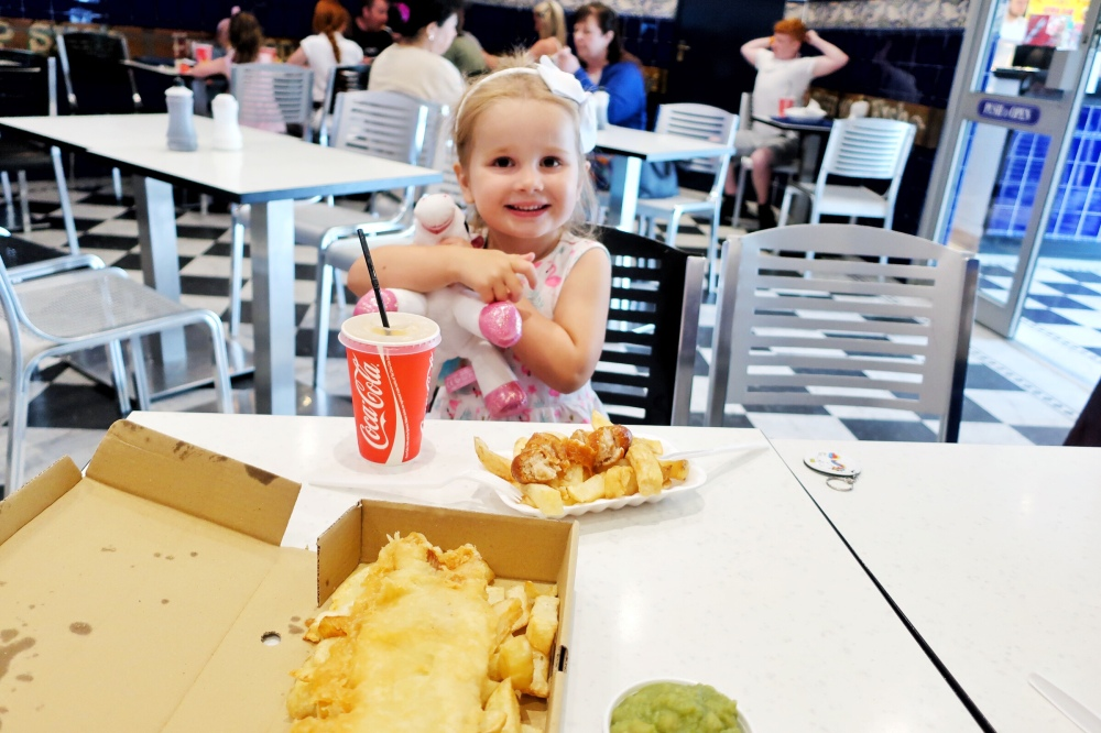 Kids eat free at Coral Island Blackpool